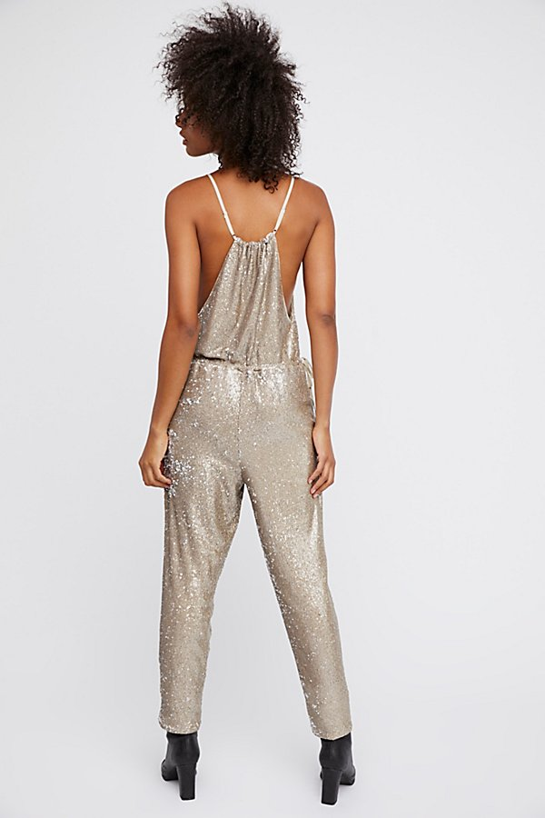 Slide View 3: Sequin Pantsuit