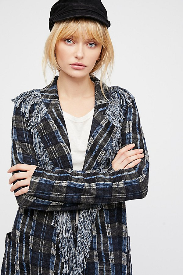 Slide View 3: Plaid About You Jacket