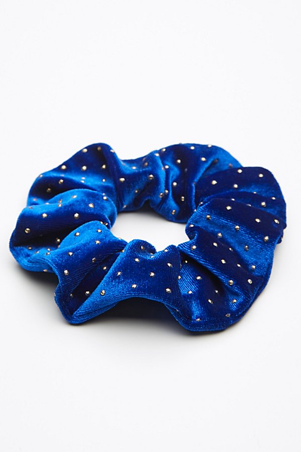 Slide View 2: Studded Velvet Scrunchie