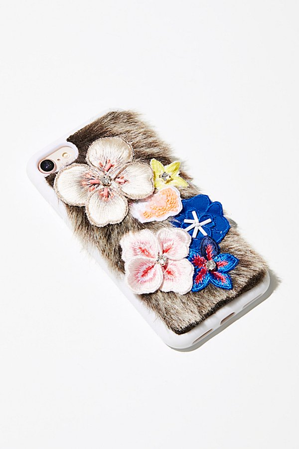 Slide View 1: Field of Flowers iPhone Case