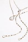 Thumbnail View 3: Shimmer Chain Stone Necklace