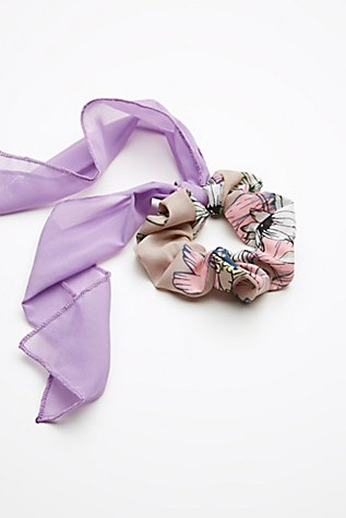 Thumbnail View 2: Colorblock Bow Scrunchie