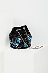 Thumbnail View 2: Floral Embroidered Bucket Bag