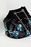 Thumbnail View 3: Floral Embroidered Bucket Bag