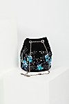 Thumbnail View 4: Floral Embroidered Bucket Bag