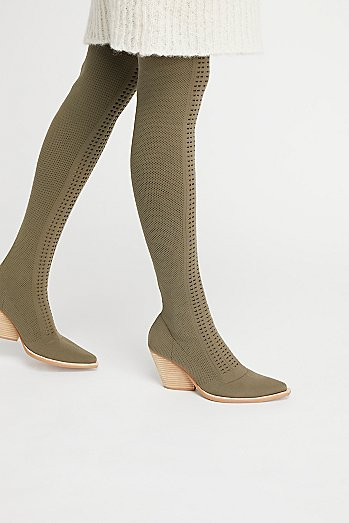 Ottoman Over-The-Knee Boot