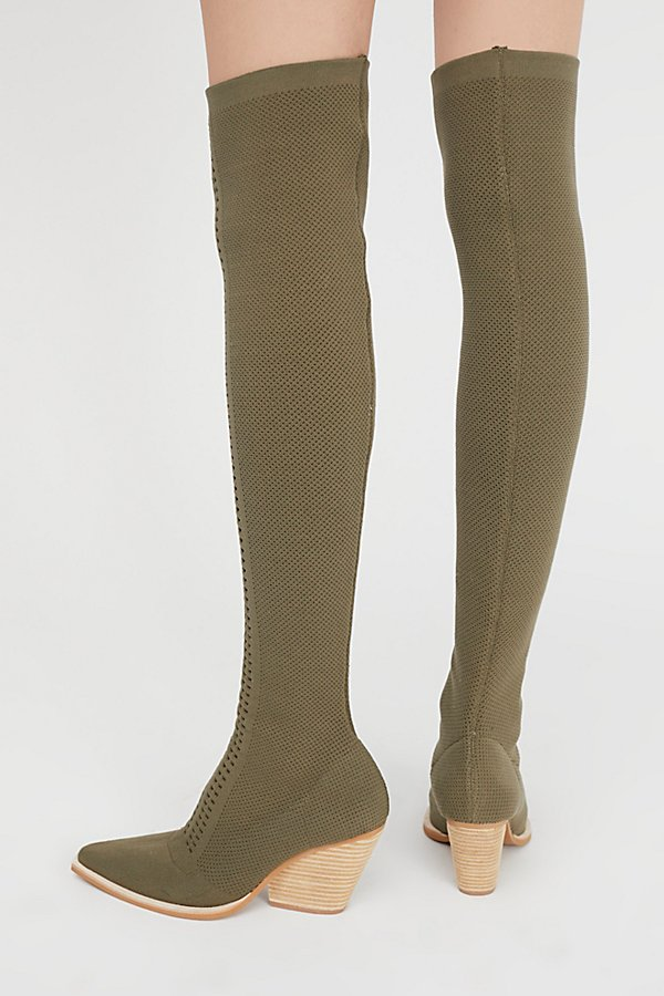 Slide View 4: Ottoman Over-The-Knee Boot