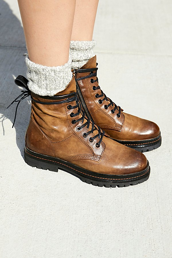 Slide View 1: Johnnies Lace-Up Boot