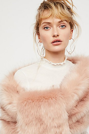 You've Got The Love Faux Fur Shrug