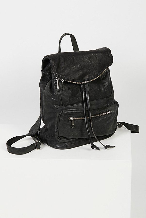 Slide View 2: Bow Leather Backpack