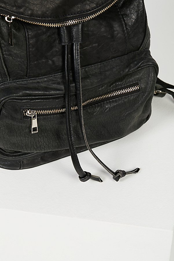 Slide View 4: Bow Leather Backpack