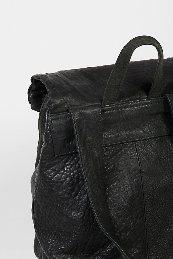 Slide View 5: Bow Leather Backpack