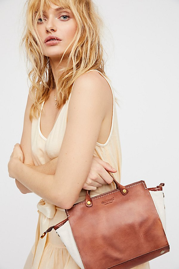 Slide View 1: Out West Distressed Satchel