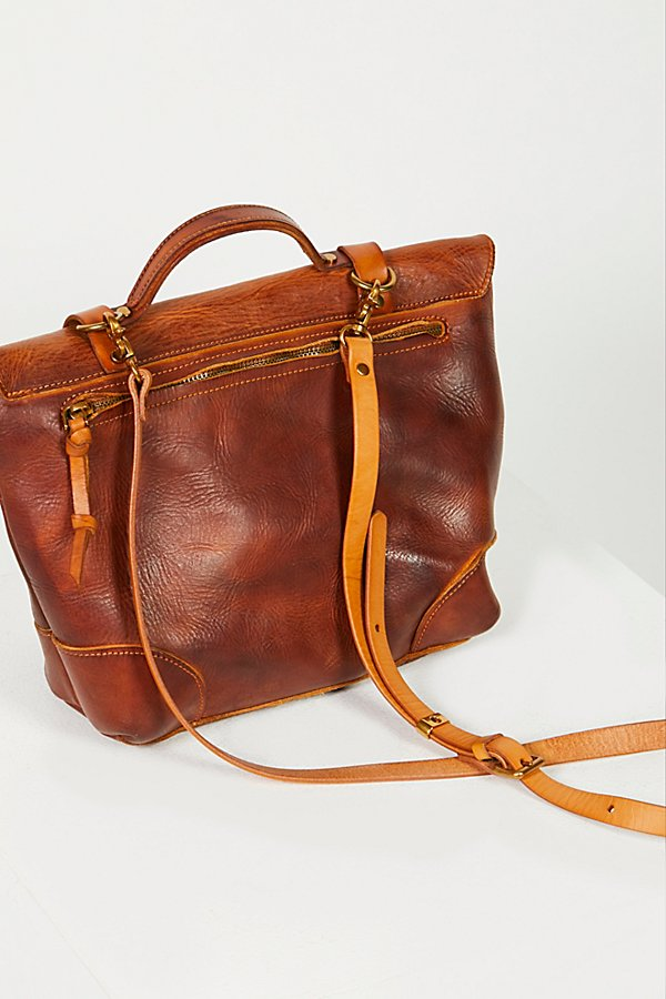 Slide View 4: Brookside Leather Messenger