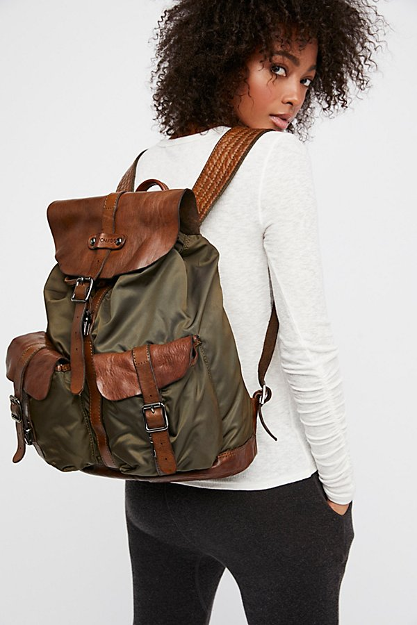 Slide View 1: Parma Distressed Backpack