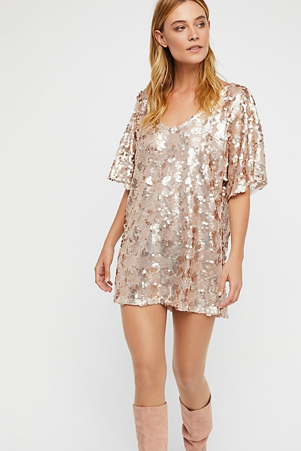 Slide View 2: Sequin T-Shirt Dress