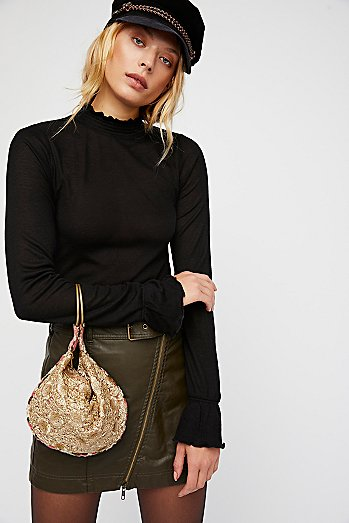 Rosalita Embellished Clutch