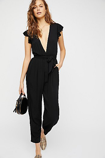 Ruffle Your Feather One-Piece