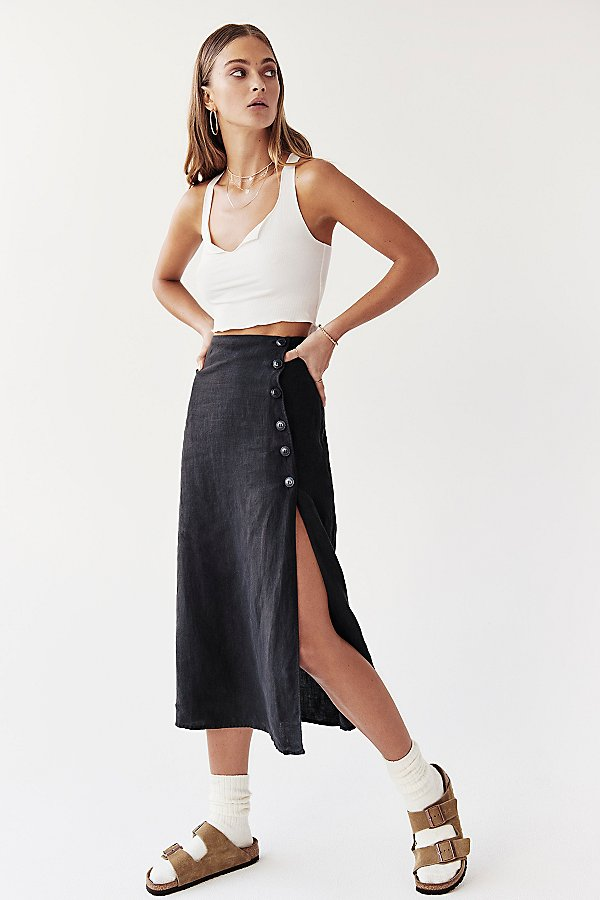 Slide View 1: Roman Holiday Midi Skirt