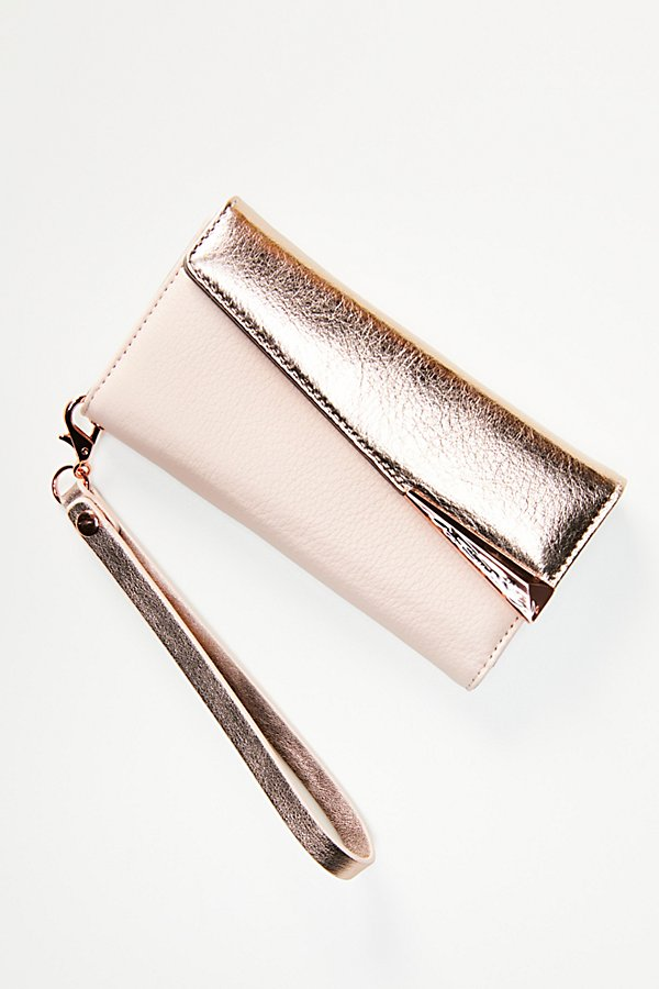 Slide View 3: Folio Wristlet iPhone Case