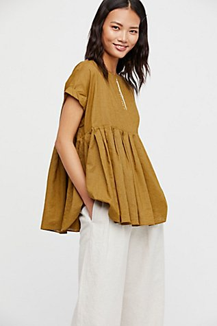 Slide View 1: Your Girl Pleated Blouse