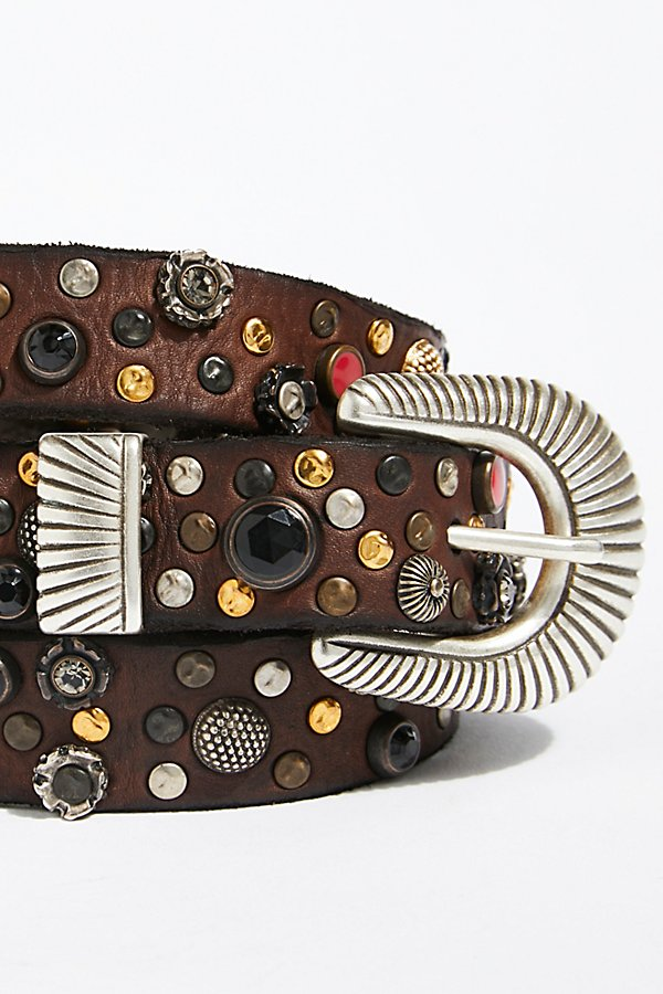 Slide View 3: Ibiza Embellished Belt