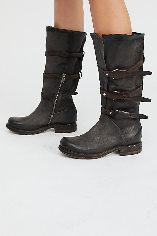 Slide View 2: Bradley Midi Moto Boot