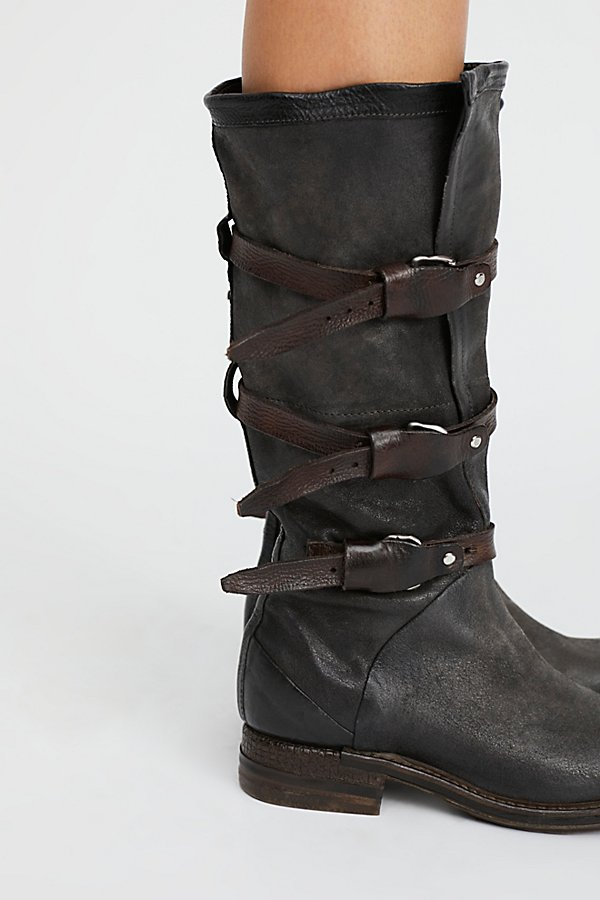 Slide View 3: Bradley Midi Moto Boot