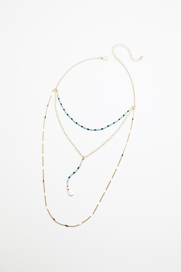 Slide View 2: Paradise Beaded Triple Necklace