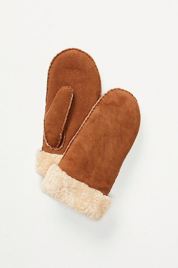Slide View 2: Hestra Shearling Mittens