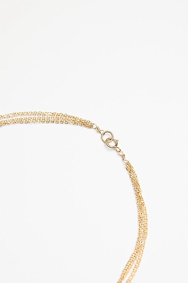 Slide View 4: Tyche Delicate 5 Tier Necklace