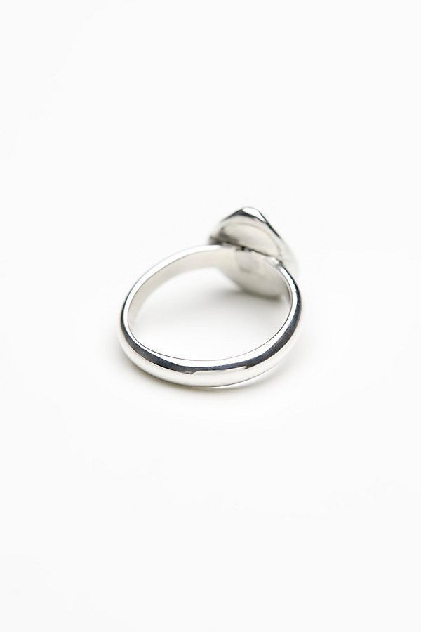 Slide View 4: Handcrafted Raw Stone Ring