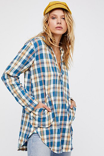 Ash Flannel Tunic