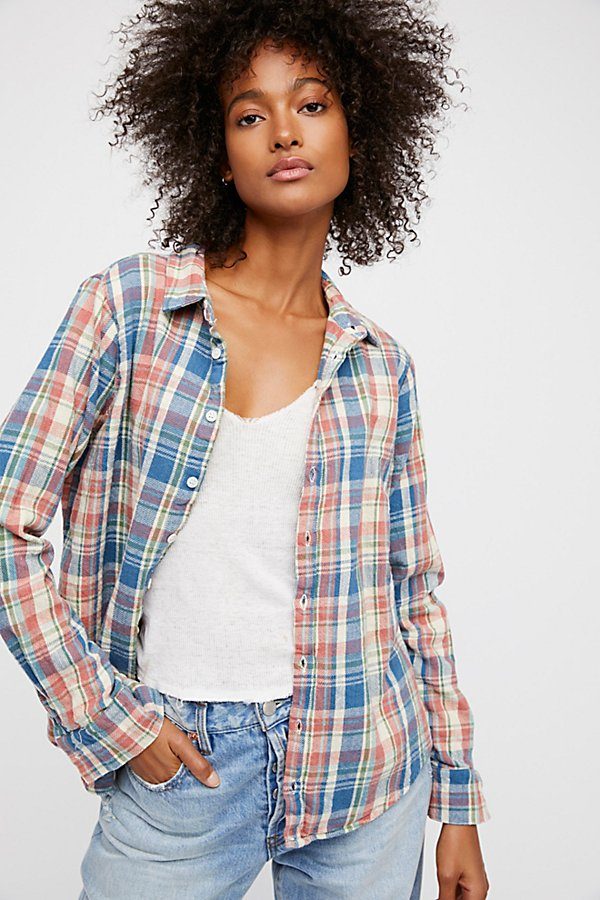 Slide View 1: Sasha Flannel Buttondown