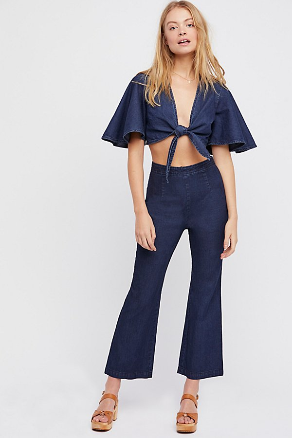 Slide View 2: Do The Twist Chambray Co-Ord