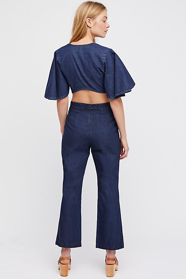 Slide View 3: Do The Twist Chambray Co-Ord