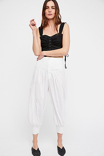 True Romance Embroidered Balloon Pant