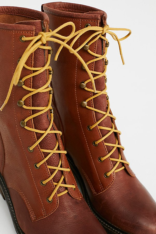 Slide View 3: Steel Lace-Up Boot