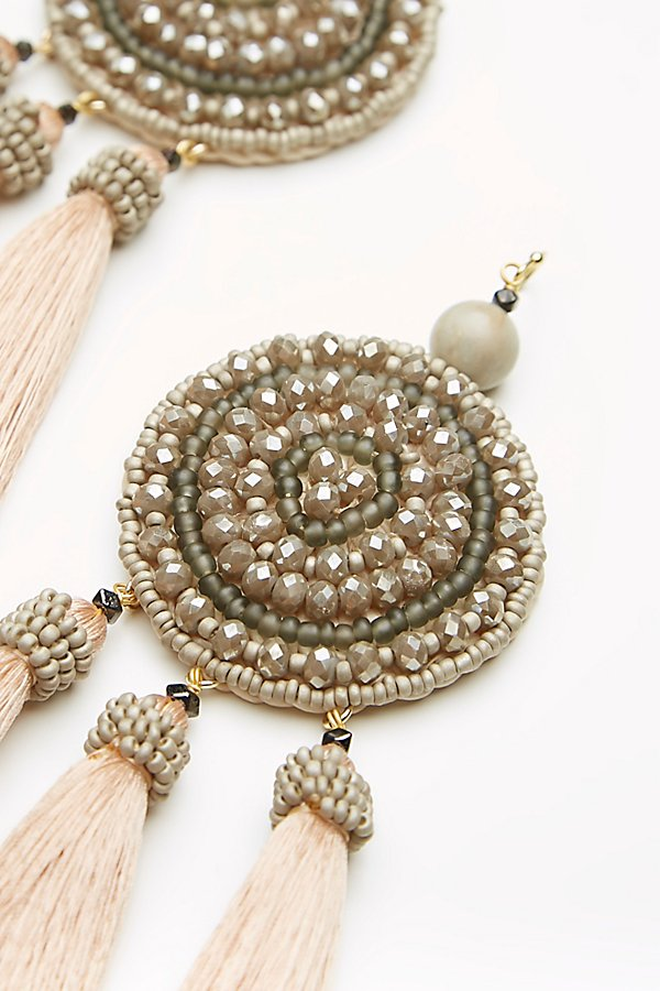 Slide View 2: Winona Embellished Tassel Earrings