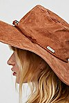 Thumbnail View 3: Woodstock Suede Floppy Hat