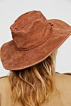 Thumbnail View 4: Woodstock Suede Floppy Hat