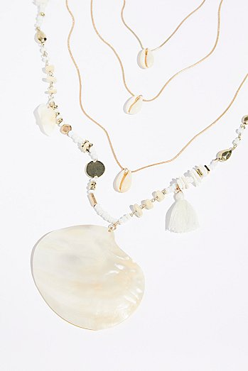 Seaside Cove Stone Necklace