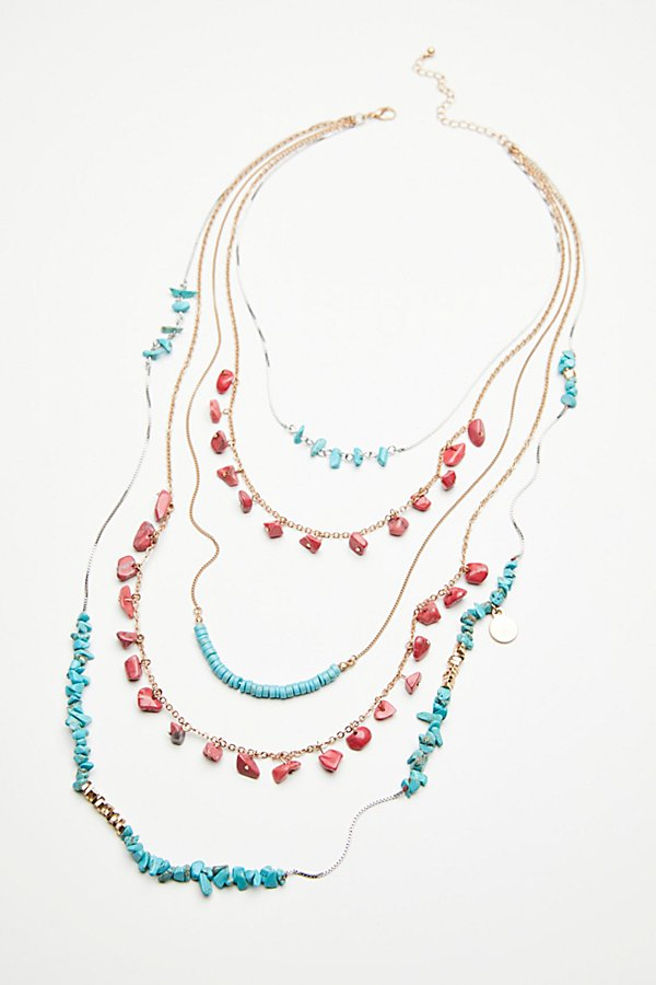 Slide View 2: Seaside Cove Stone Necklace