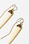 Thumbnail View 3: Tusk Threader Earrings