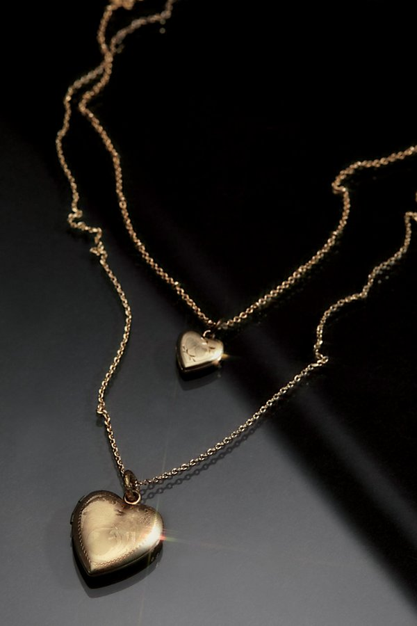 Slide View 2: Double Locket Necklace