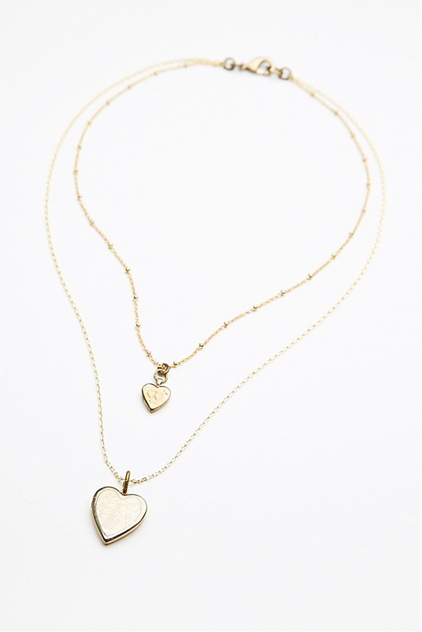 Slide View 5: Double Locket Necklace