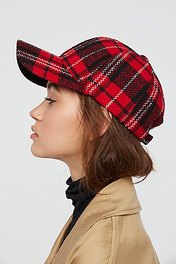 Check Me Out Plaid Baseball Hat