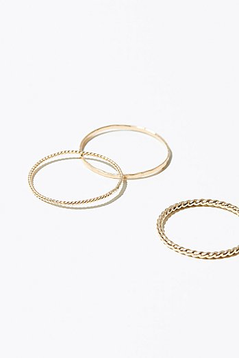 14k Core Stacking Rings