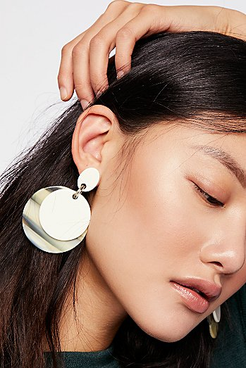 Resin Disc Drop Hoops