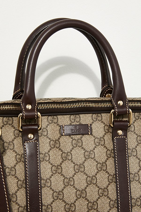 Slide View 2: Vintage Gucci Briefcase
